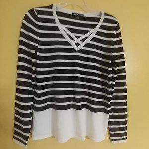 NWOT Cable & Gauge Pullover Sweater Top S
